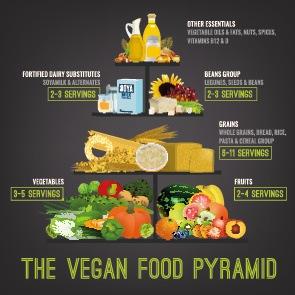 vegan für anfänger vegane ernährungspyramide