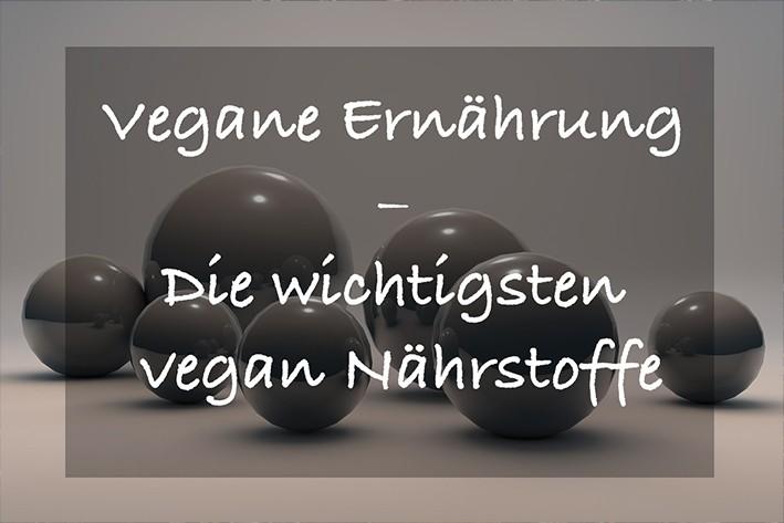 vegan nährstoffe