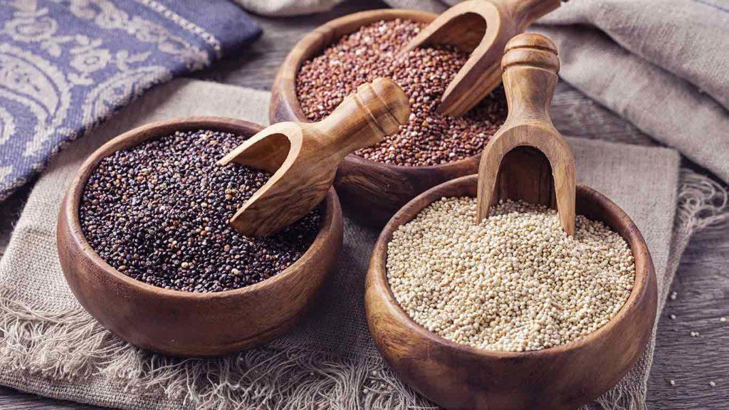 Quinoa ist eine gute Eiweißquelle für Veganer