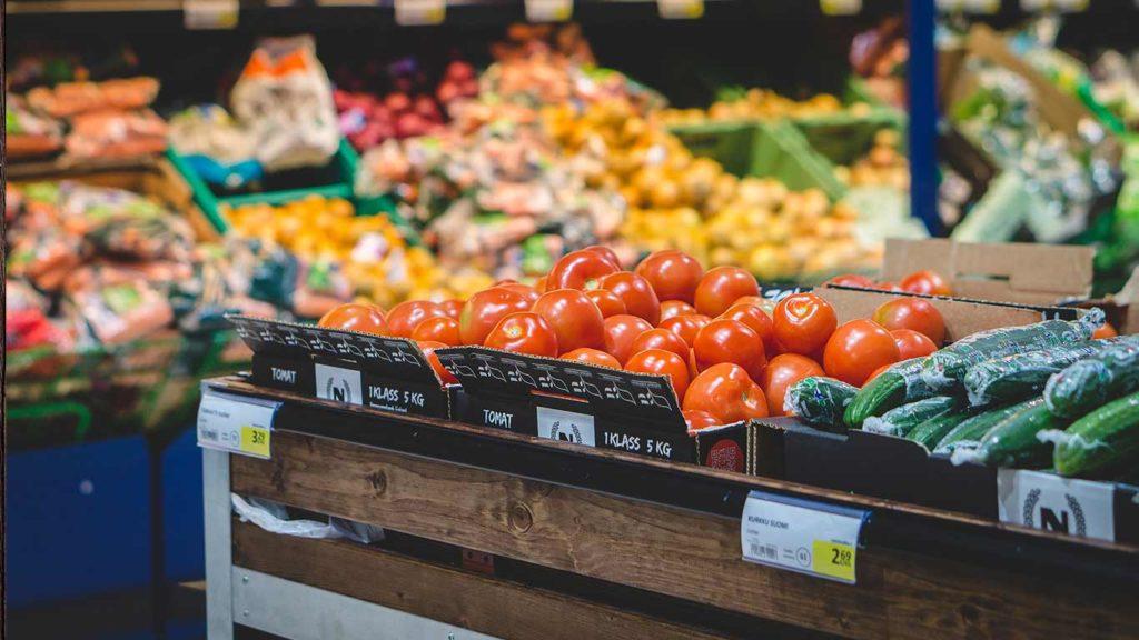 Regel um vegan abzunehmen ist nicht mit Hunger einkaufen zu gehen