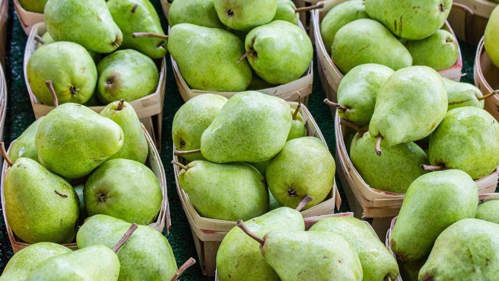 So kaufst Du Birnen im Supermarkt ein