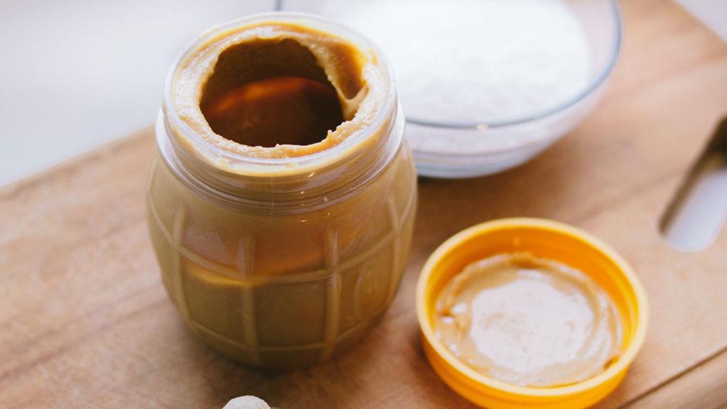 Erdnussbutter und Frischkäse sind sehr beliebt und perfekt fürs abnehmen