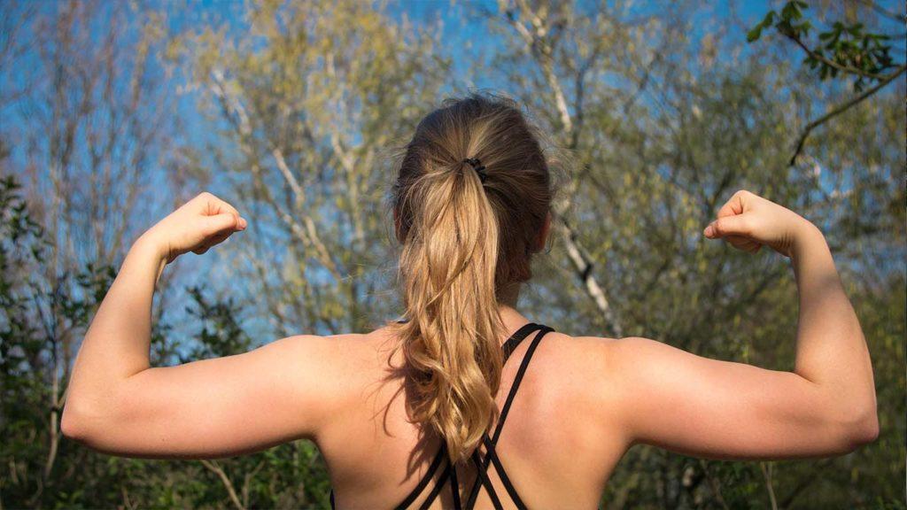 Um Fett zu verlieren musst Du Muskeln aufbauen