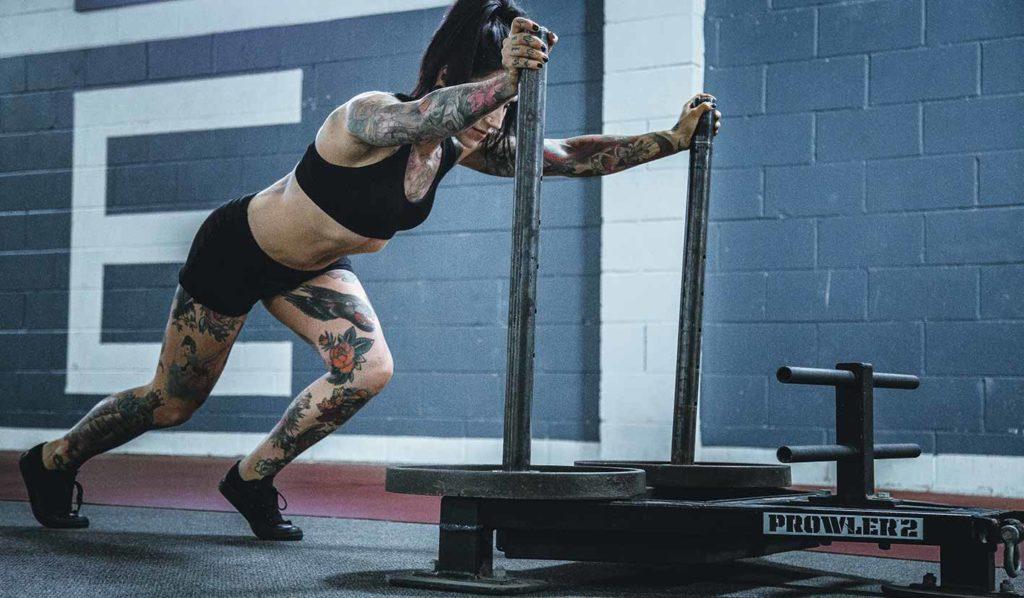 Variiere Dein Training wenn Du vegan abnehmen und Muskel aufbauen willst