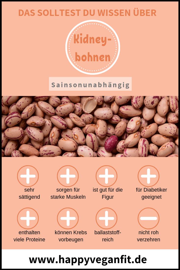 eiweiß für veganer bohnen infografik