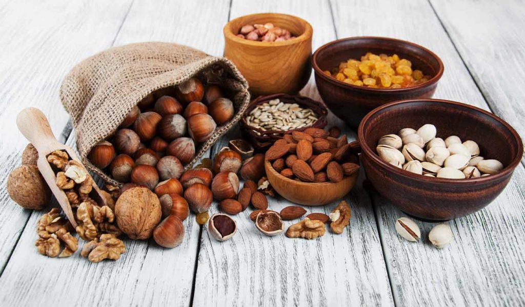 Nüsse haben ein gesünderes Fettprofil und eignen sich toll zum Kochen
