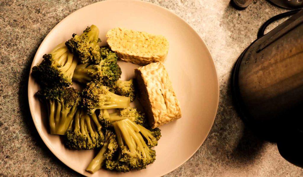Proteinreiches Abendessen beim Muskelaufbau vegan