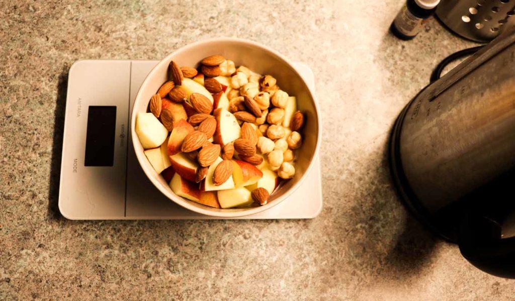 Gesunder Mittagsnack für veganer Muskelaufbau