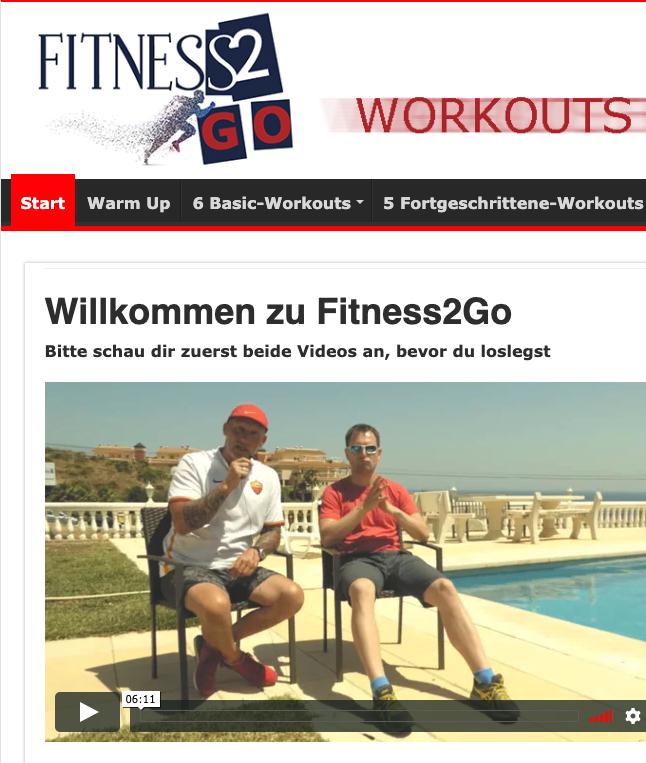 fitness2go zum Abnehmen perfekt geeignet