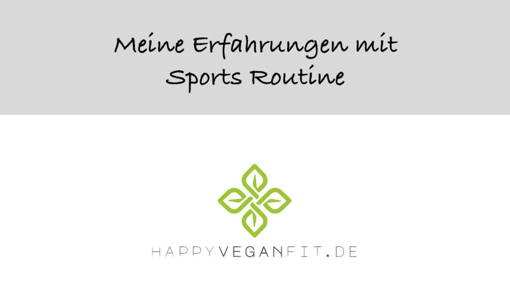 Testbericht zum Online Sportkurs von Sports Routine