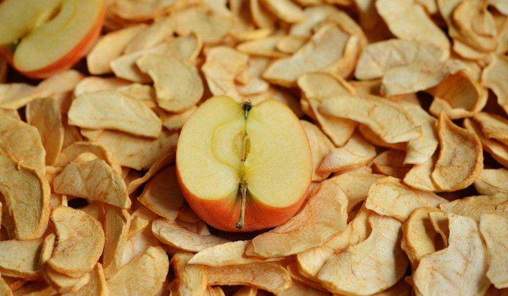 Getrocknete Früchte eignen sich nicht sehr gut, wenn Du Hüftspeck loswerden willst