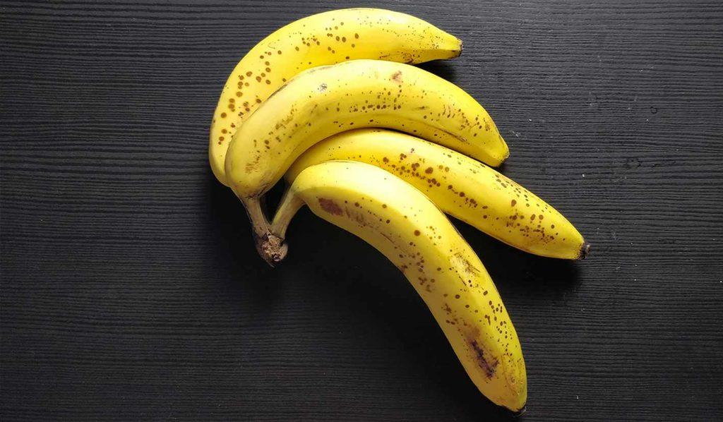 Bananen helfen Gewicht vegan zu verlieren