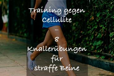 Cellulite mit Sport wegbekommen