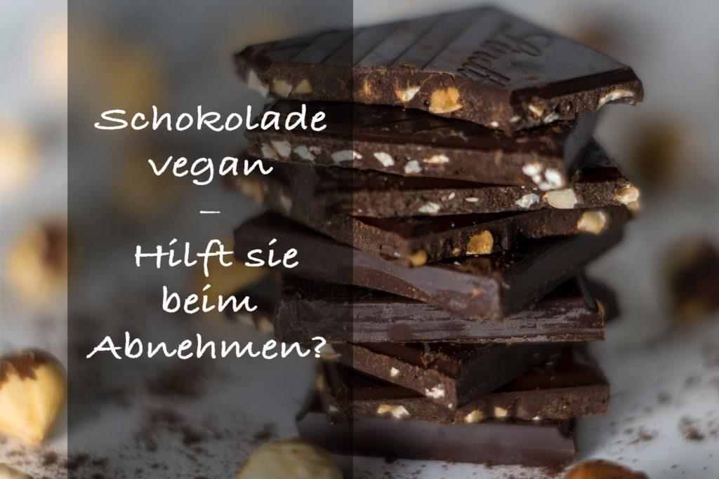 Vegane Schokolade gilt als Superfood und soll sogar beim Abnehmen helfen